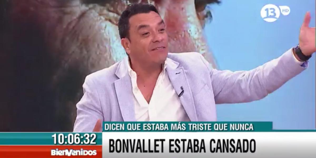 Claudio Palma relata su última conversación con Bonvallet