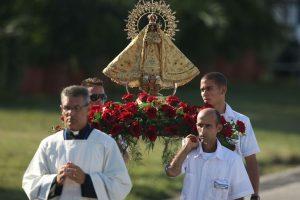 El lunes realizó una misa masiva en Holguín, en la que instó a los fieles a ser humildes. Foto:Getty Images. Imagen Por: