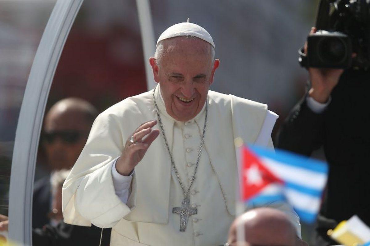 Así han recibido al Sumo Pontífice en el país Foto:Getty Images. Imagen Por: