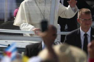 El sumo pontífice ofició una misa en la Plaza de la Revolución, en esta ciudad Foto:Getty Images. Imagen Por: