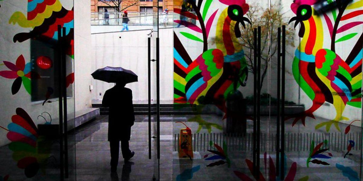 Anuncian lluvias desde el martes hasta el jueves en Santiago
