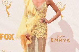 """Heidi Klum parece salida de """"Deslizando la Gloria"""". Foto:vía Getty Images. Imagen Por:"""
