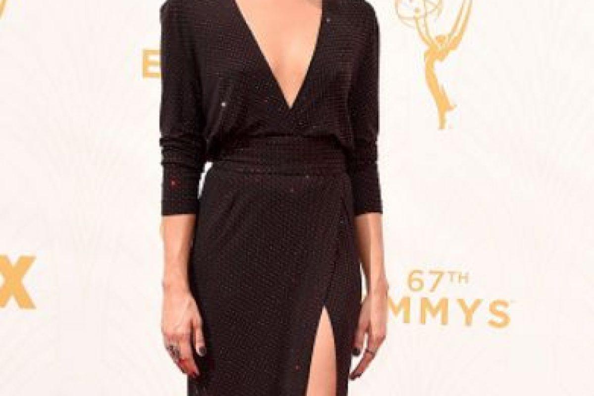 Aubrey Plaza, con un color perfecto para ella. Foto:vía Getty Images. Imagen Por:
