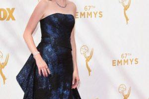 Kristen Schaal, con un color más que apropiado. Perfecta. Foto:vía Getty Images. Imagen Por: