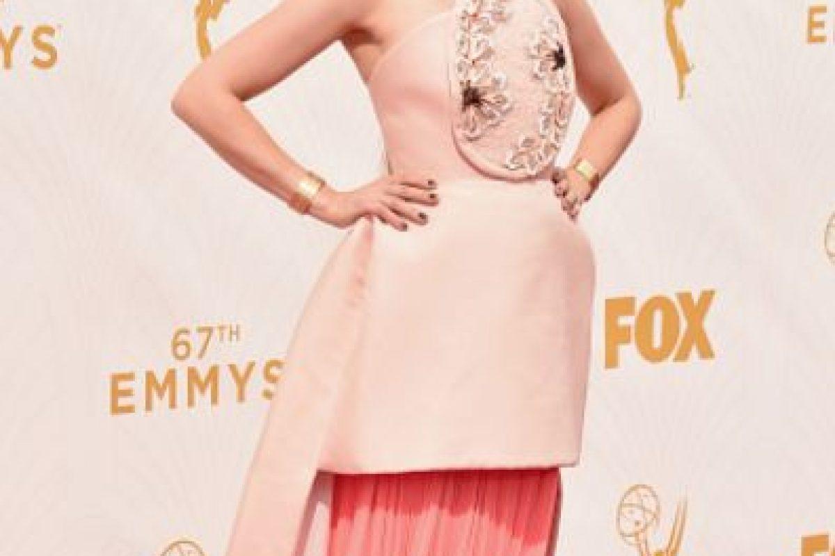 Joanna Newsom parecía usando un pastel con pastillaje. Foto:vía Getty Images. Imagen Por: