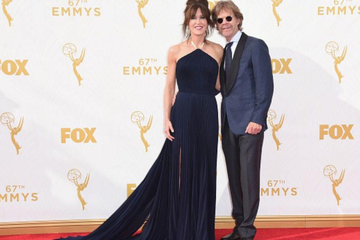 Felicity Huffmann parece camarera que se puso el vestido y se fue al evento. Foto:vía Getty Images. Imagen Por: