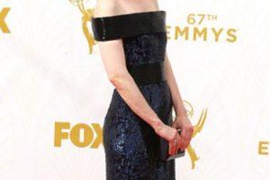 Sarah Paulson, aunque no iba de negro, tenía este color en su vestido. Foto:vía Getty Images. Imagen Por: