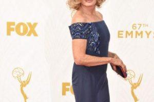 Sorry, Jessica Lange. Jamie Lee Curtis te gana esta vez. Foto:vía Getty Images. Imagen Por: