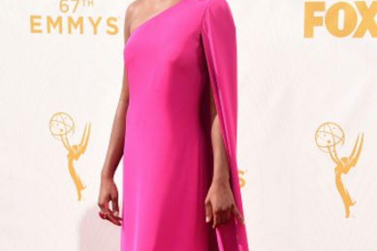Samira Willey, como Lupita Nyong'o. Foto:vía Getty Images. Imagen Por: