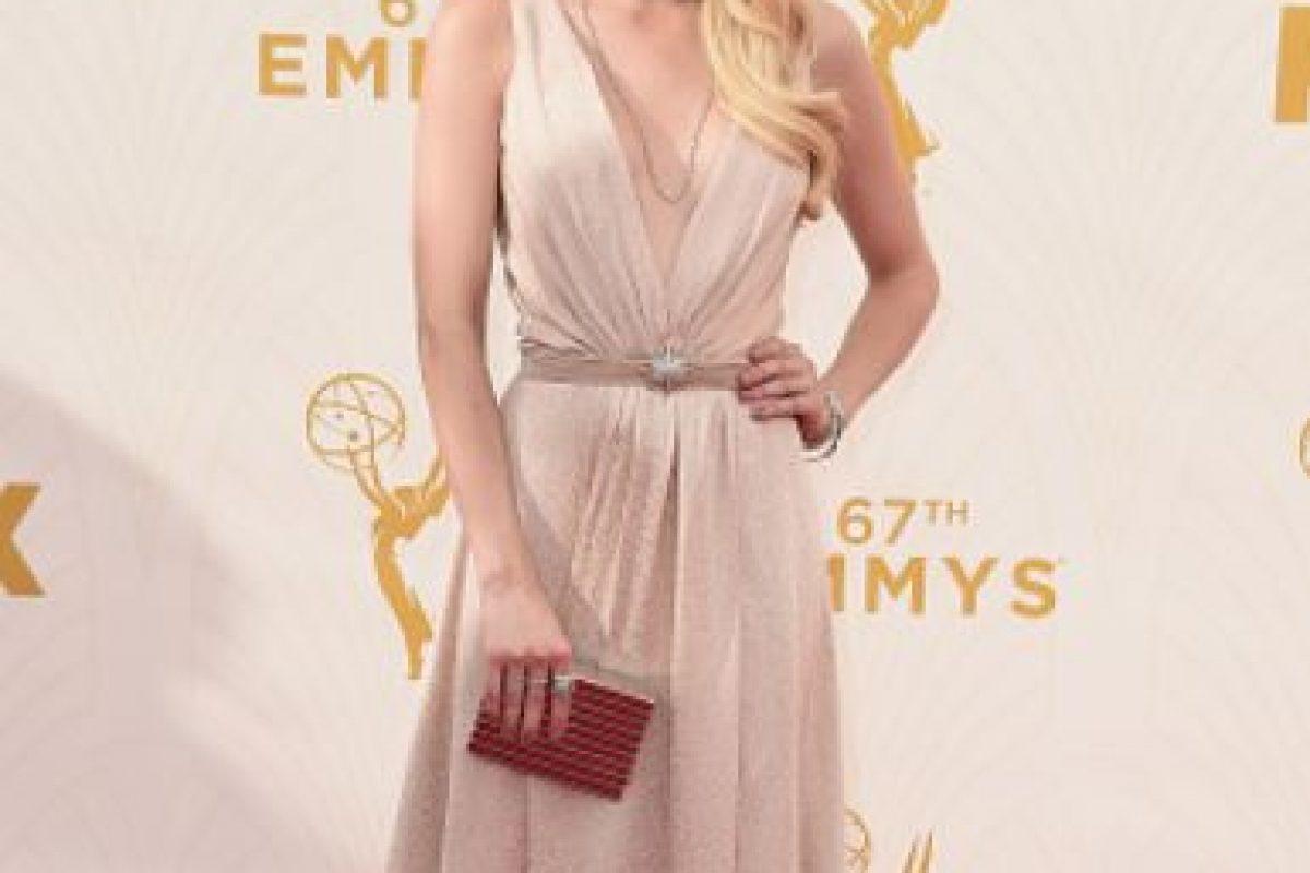 Emma Roberts, única en rosa. Foto:vía Getty Images. Imagen Por: