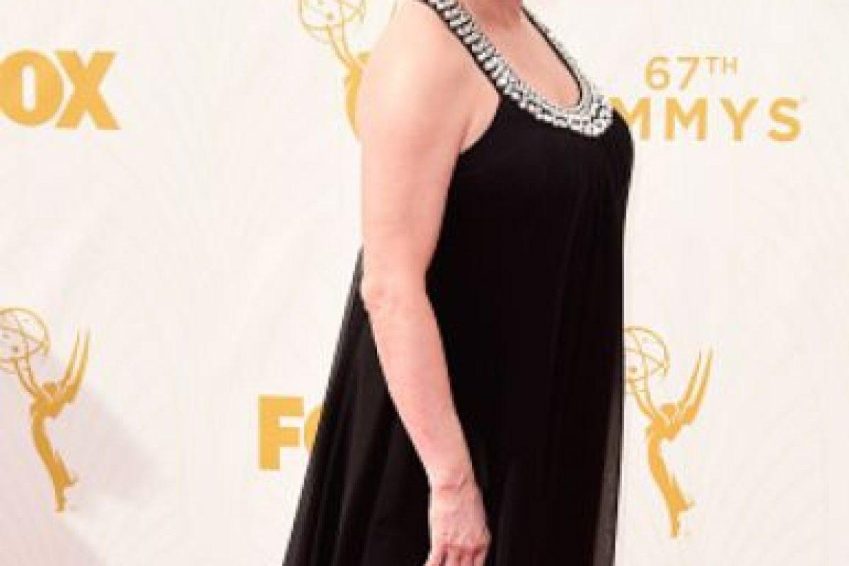 Kate Mulgrew, con mangas y más ajustado eso se veía mejor. Foto:vía Getty Images. Imagen Por: