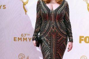 Y un vestido que no iba bien con ella. Foto:vía Getty Images. Imagen Por: