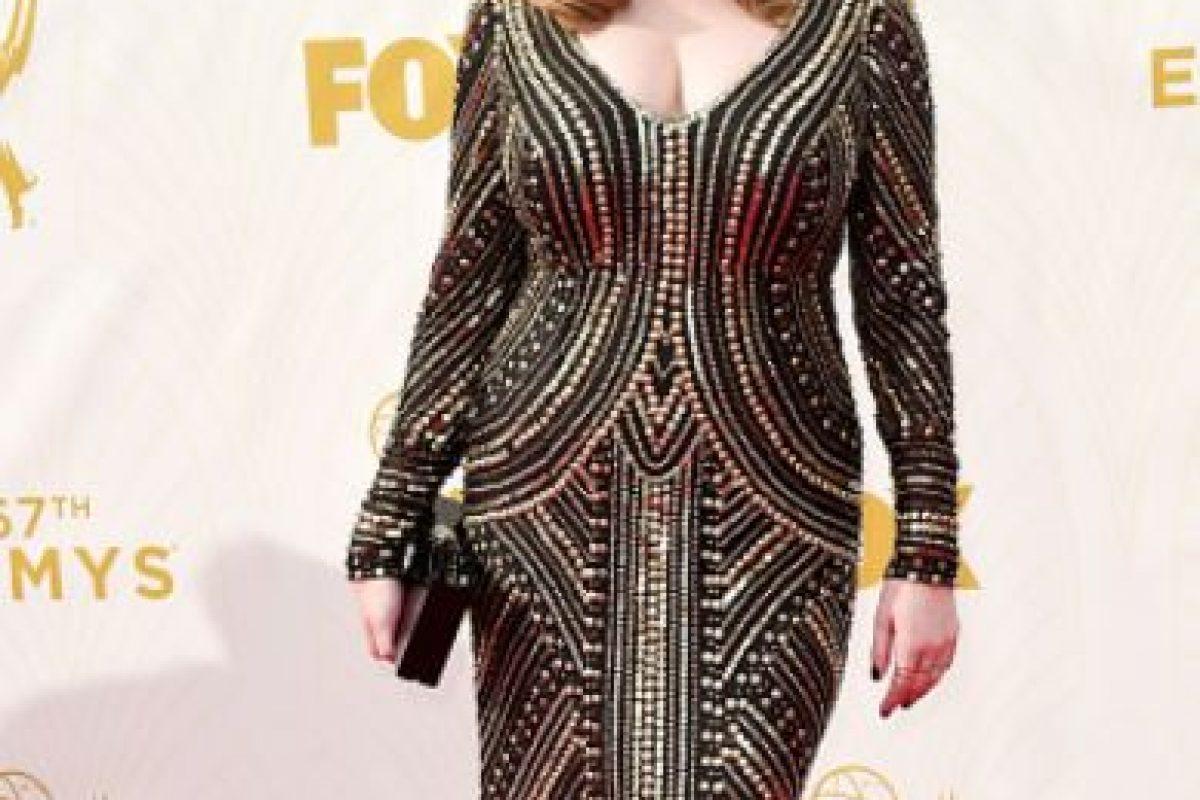 "Christina Hendricks era la gran esperanza ""plus size"" de la noche. Foto:vía Getty Images. Imagen Por:"