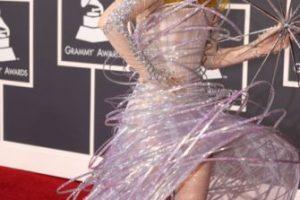 Usó esto en los Grammy. Foto:vía Getty Images. Imagen Por: