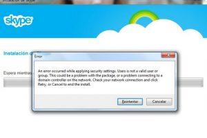 El programa se restableció por completo después de siete horas Foto:Skype/Microsoft. Imagen Por: