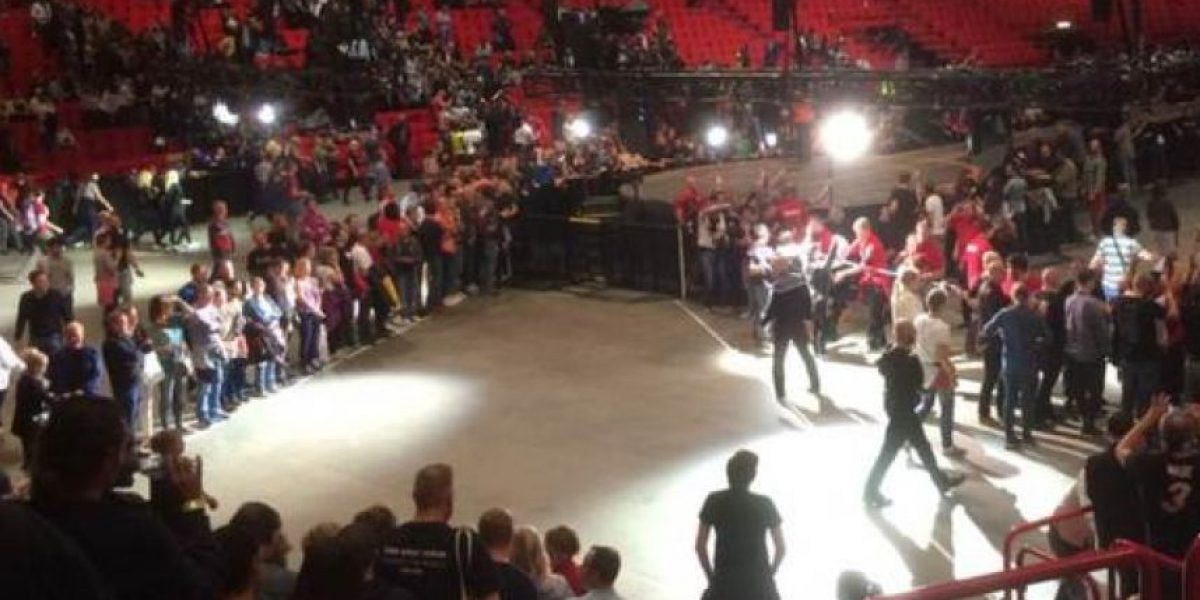 Suspenden un concierto de U2 en Estocolmo por amenaza para la seguridad