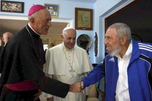 La reunión con el líder de la Revolución Cubana, Fidel Castro Foto:AFP. Imagen Por: