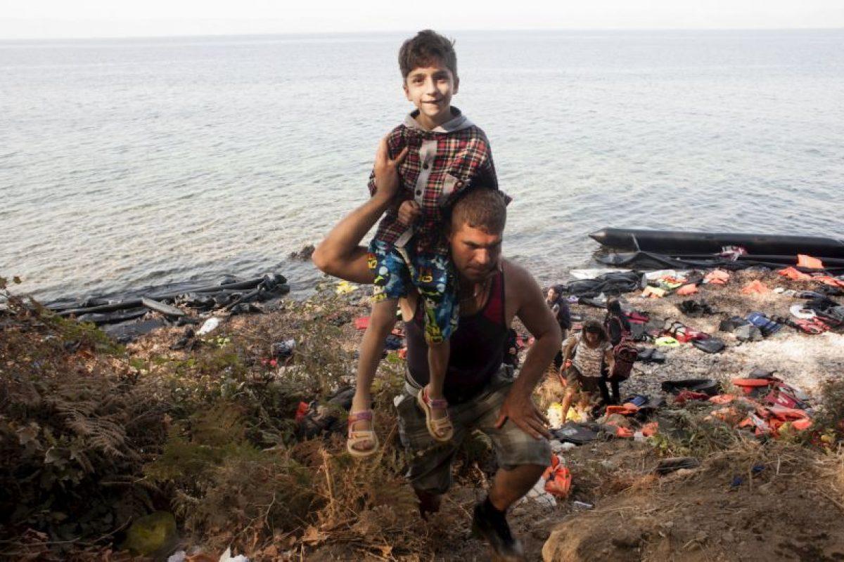 De acuerdo a laUNICEF, en el primer semestre de 2015, llegaron 106 mil niños Foto:AFP. Imagen Por: