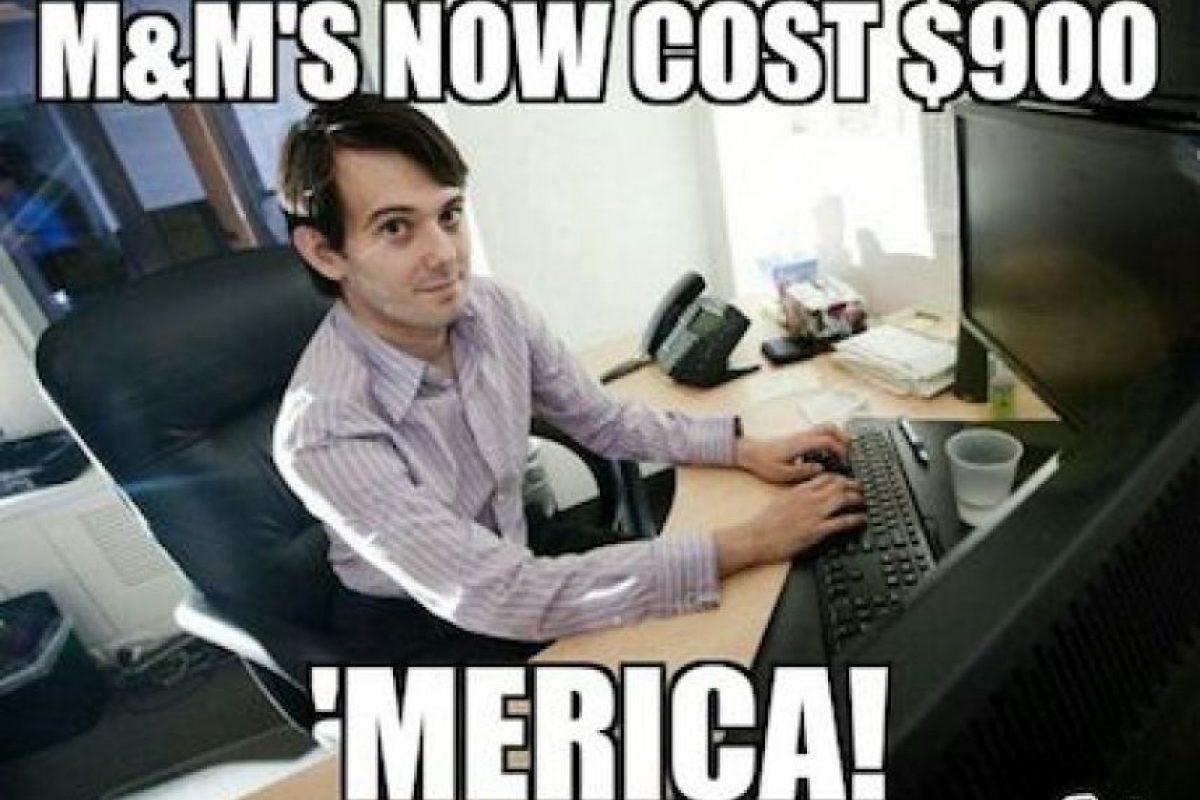 """""""Los M&M's ahora cuestan 900 dólares… ¡Estados Unidos!"""" Foto:Instagram.com. Imagen Por:"""