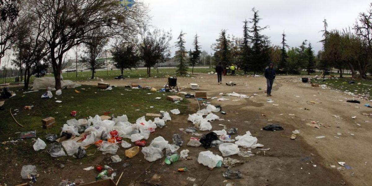 La otra cara de Fiestas Patrias: así fue la limpieza del Parque O