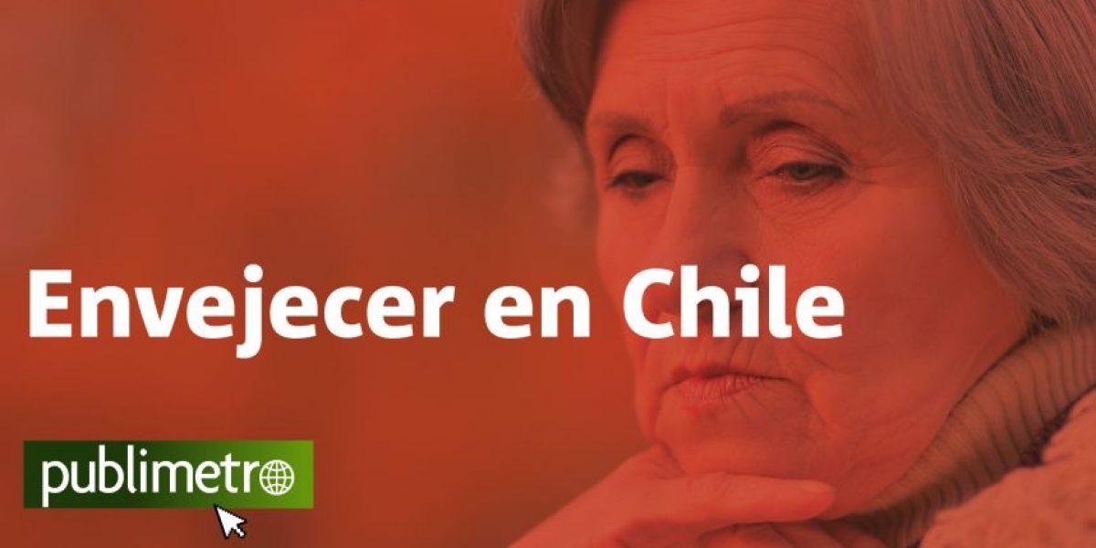Infografía: envejecer en Chile