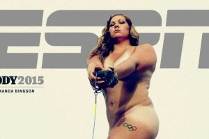 Amanda Bingson. Atleta estadounidense especializada en lanzamiento de martillo Foto:ESPN. Imagen Por: