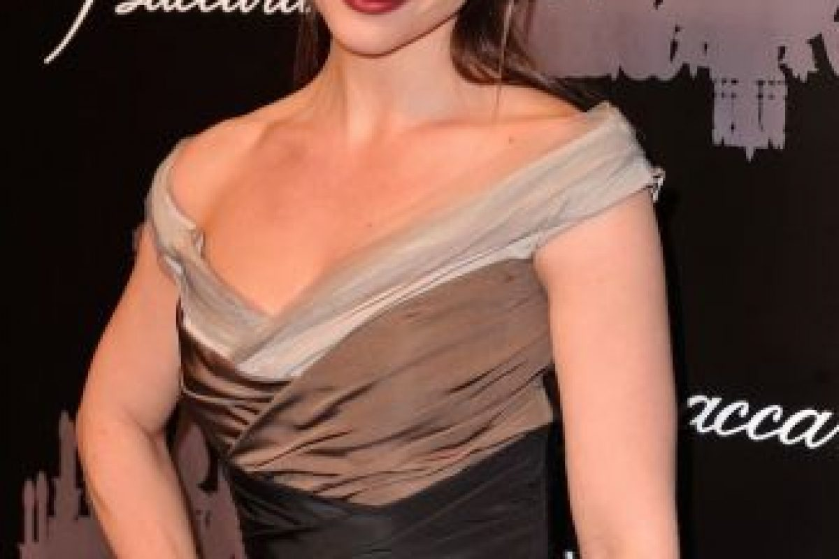 "Anjelica Huston la apodó ""Squant"", que significa ""pequeño pececillo inquieto"". Foto:Getty Images. Imagen Por:"