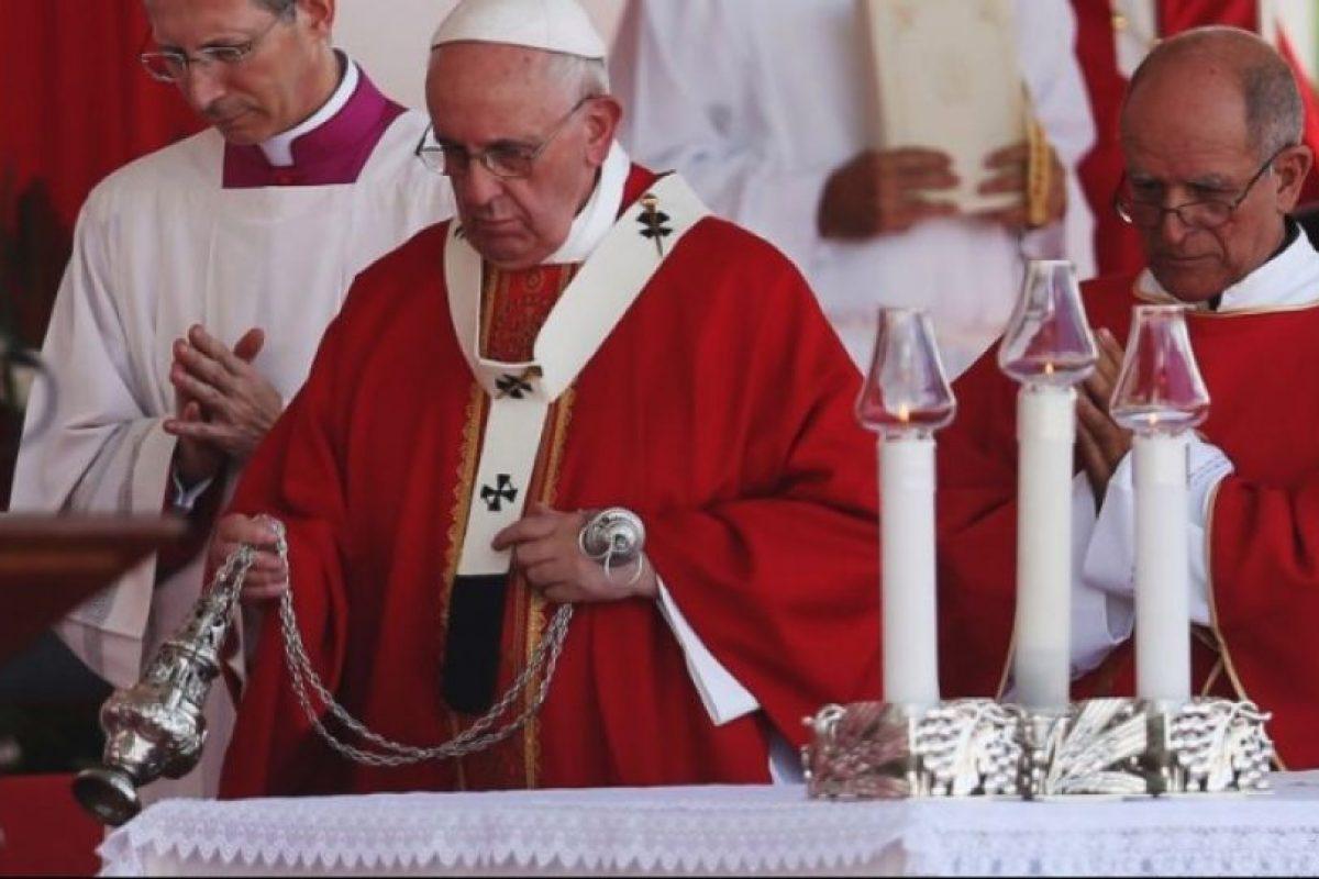 También ofició una misa en la ciudad de Holguín Foto:Getty Images. Imagen Por: