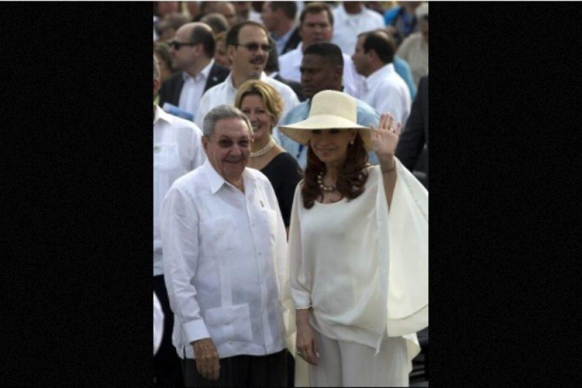 La visita de Cristina Fernández, presidenta de Argentina, a La Habana Foto:AFP. Imagen Por: