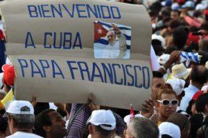 El recibimiento del pueblo cubano Foto:AFP. Imagen Por: