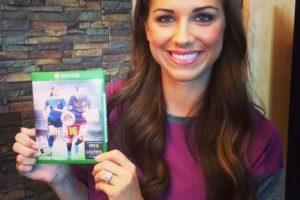 Alex Morgan es una de las estrellas femeninas en el videojuego. Foto:twitter.com/alexmorgan13. Imagen Por: