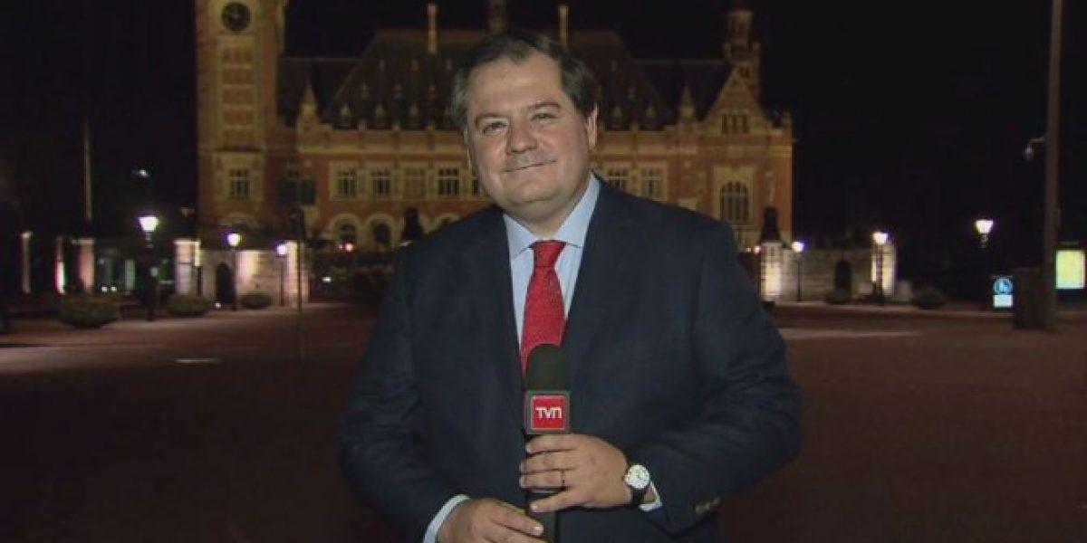 La intensa cobertura de la TV ante nuevo fallo en La Haya