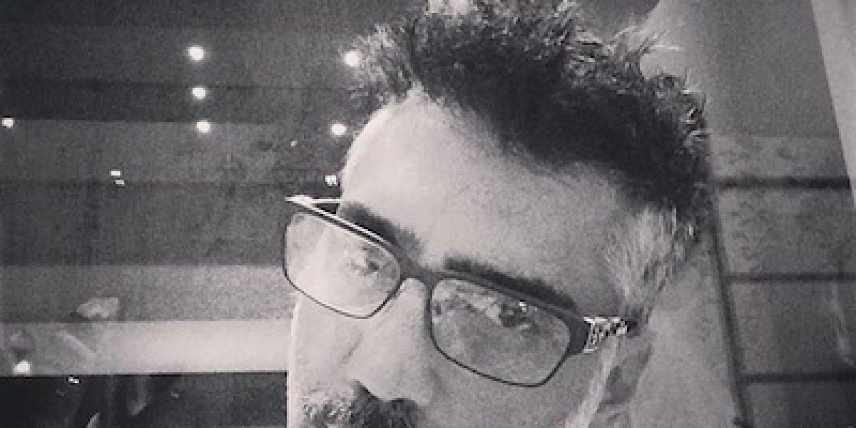 Alejandro Fernández reveló impactante foto del accidente que casi le cuesta la vida