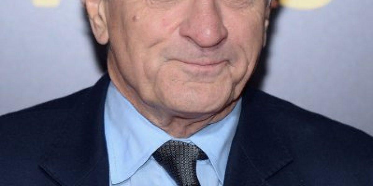 Robert De Niro se enojó y abandonó una entrevista