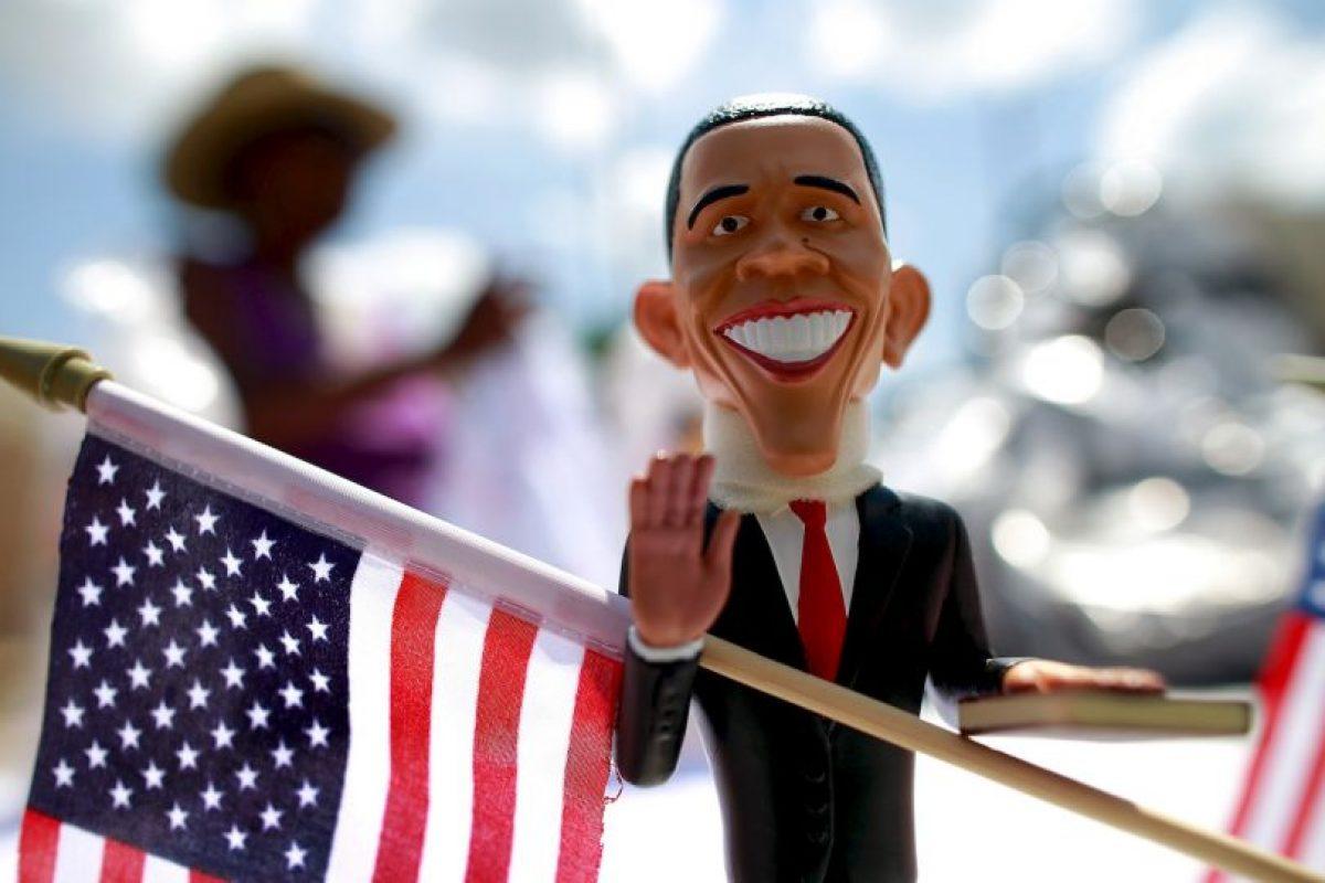El presidente se convirtió en souvenir de Carolina del Norte en 2012. Foto:Getty Images. Imagen Por: