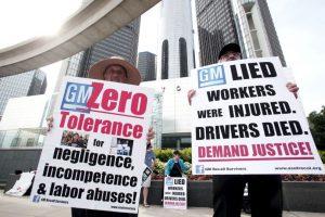 En 2013, la compañía estadounidense fue acusada de ocultar un defecto en el encendido de los automóviles Foto:Getty Images. Imagen Por:
