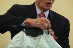 La TSA denunció en 2014 que las bolsas de aire de la empresa japonesa Takata tenían un defecto. Foto:Getty Images. Imagen Por: