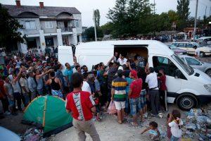 Se estima que el país que recibirá más número de migrantes será Alemania. Foto:Getty Images. Imagen Por: