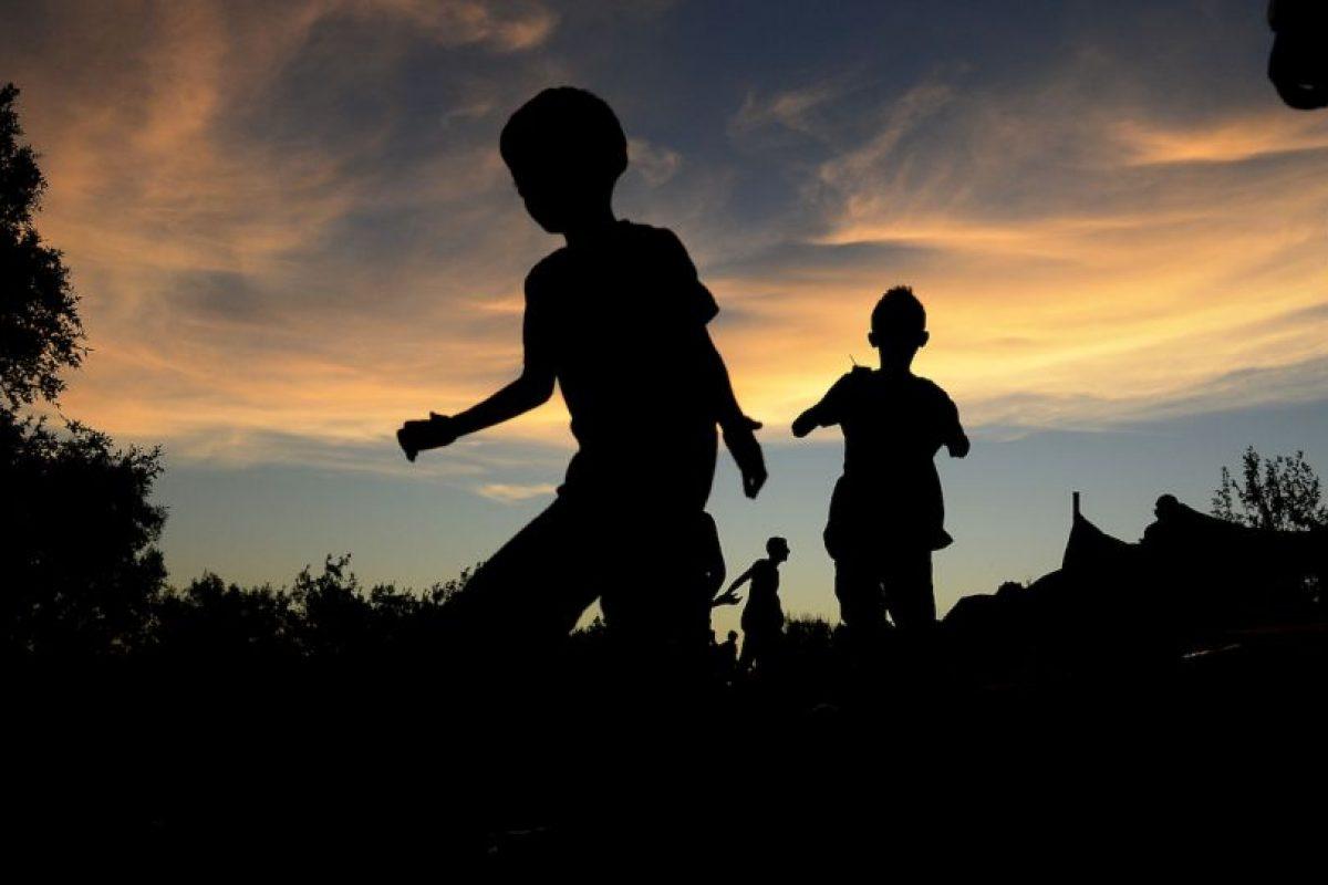 Un gran número de niños fueron explotados desde que llegaron a Europa Foto:Getty Images. Imagen Por:
