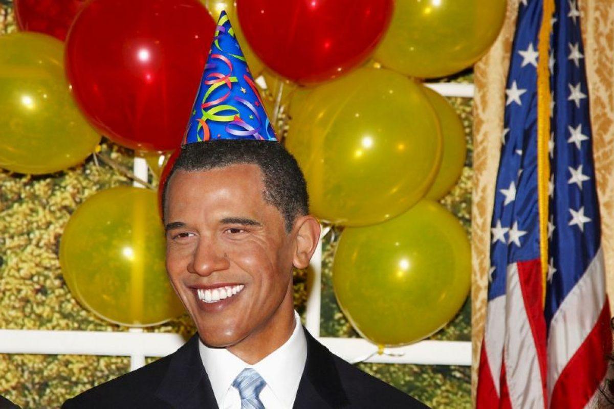 En esta figura el presidente Barack Obama celebraba su cumpleaños el 4 de agosto de 2009 en la ciudad de Nueva York. Foto:Getty Images. Imagen Por:
