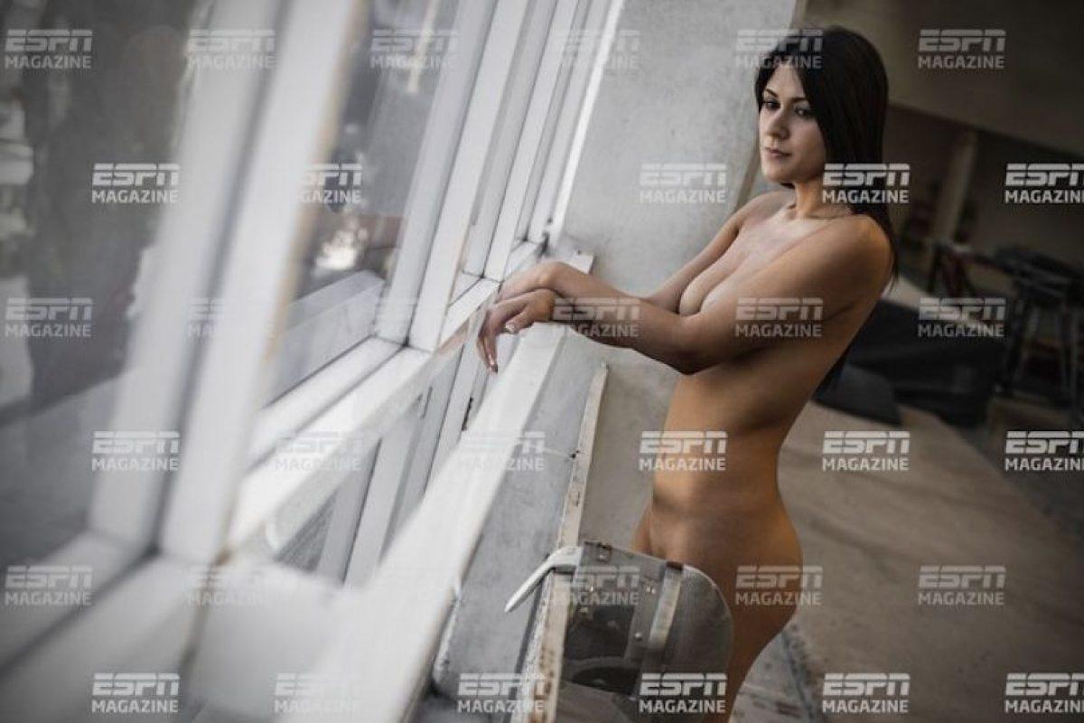Esgrimista mexicana Foto:ESPN. Imagen Por: