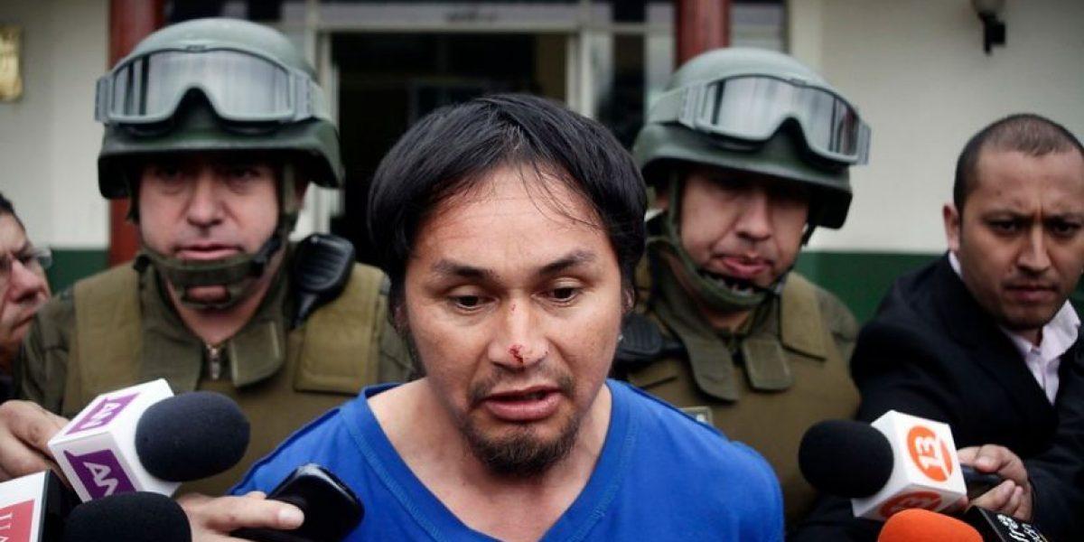 Comunero mapuche capturado en Temuco aparece con heridas en la nariz