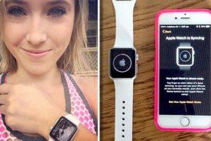 Ella fue la primer mujer en tener el Apple Watch en sus manos. Su nombre es Melanie Firbank, es bailarina y es autraliana Foto:Instagram. Imagen Por: