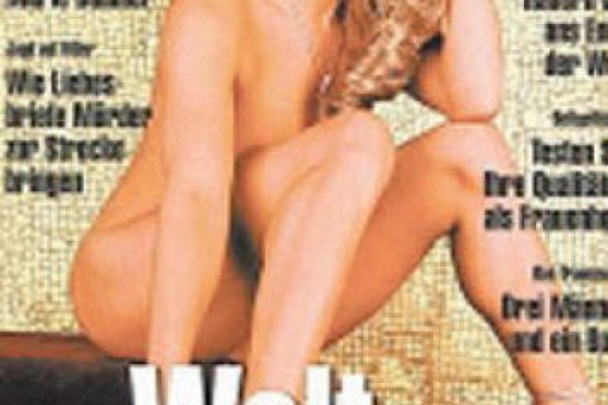 Así lucía en su primera aparición en la revista del conejito Foto:Playboy. Imagen Por: