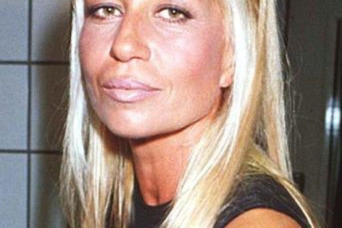 Donatella Versace se veía así en los años 90. Foto:vía Getty Images. Imagen Por: