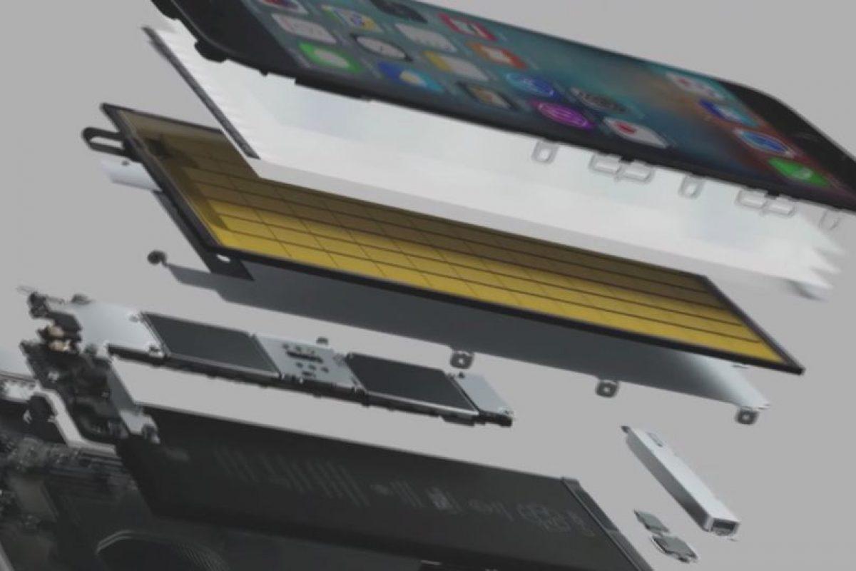Los componentes internos Foto:Apple. Imagen Por: