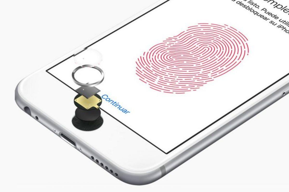 Touch ID Foto:Apple. Imagen Por: