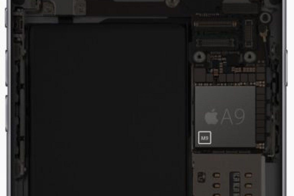 El procesador A9 y el coprocesador M9 Foto:Apple. Imagen Por: