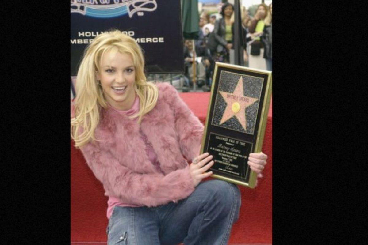 Britney nunca ha sabido usar los materiales. Foto:vía Getty Images. Imagen Por: