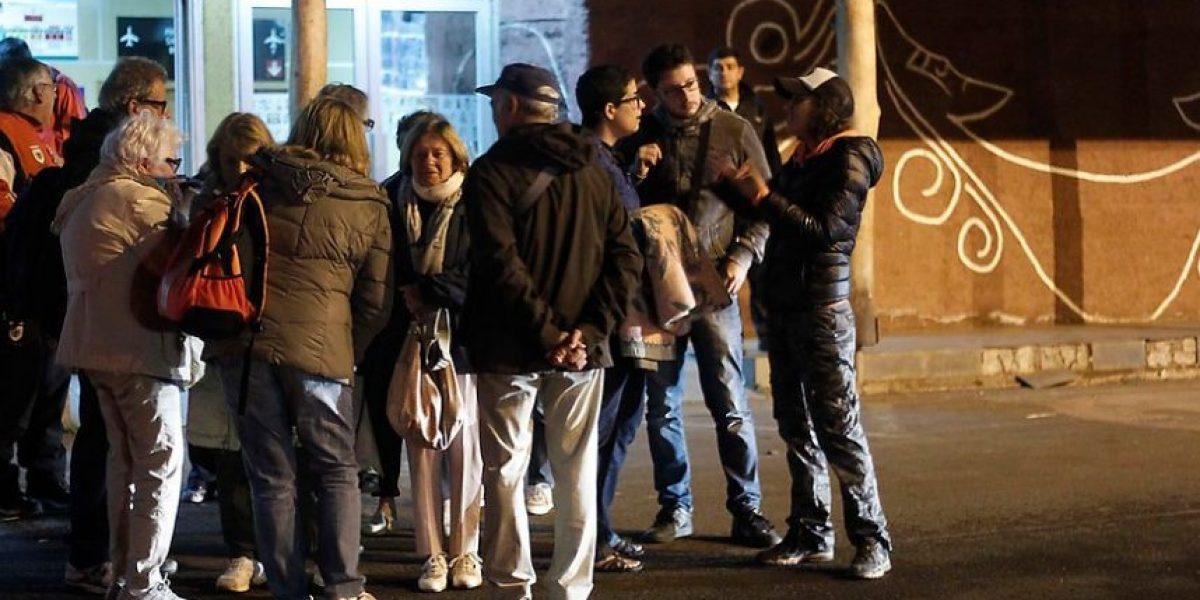 Fuerte réplica del terremoto de 6,2 Richter despertó a seis regiones